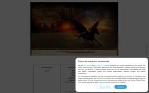 Скриншот сайта Вся жизнь - война