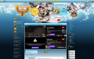 Скриншот сайта RPG club