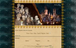 Скриншот сайта Хеталия: Хогвартс