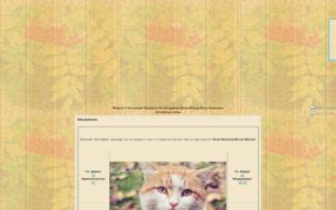 Скриншот сайта Коты-воители. Ветер жизни