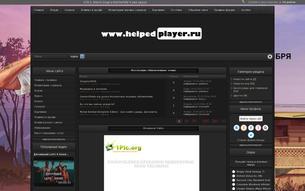 Скриншот сайта Game portal