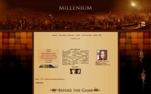 Скриншот сайта Миллениум