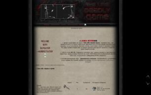 Скриншот сайта The LMS: deadly game