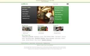 Скриншот сайта Фансайт Warhammer 40.000