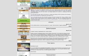 Скриншот сайта MU Online 1.02k (exp 160)