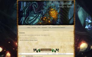 Скриншот сайта Дю Фим Скулблака. Легенда о Первом