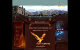 Скриншот сайта UOKR: kingdom reborn