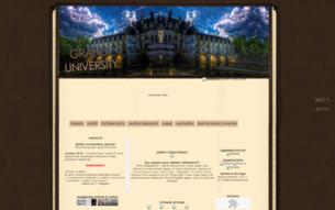 Скриншот сайта Grand university