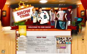 Скриншот сайта Show time!