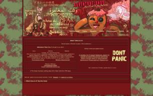 Скриншот сайта Время приключений!