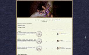 Скриншот сайта FRPG Drop of blood
