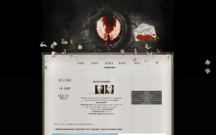 Скриншот сайта Mortal instruments. Memento mori