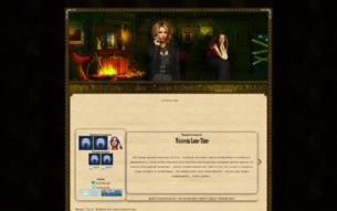 Скриншот сайта Wisteria Lane: через ложь и отчаяние