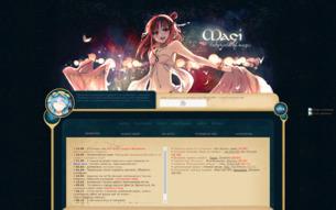 Скриншот сайта Magi RPG