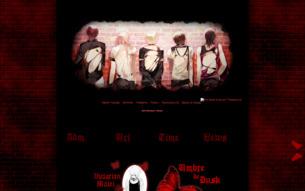 Скриншот сайта Тени заката
