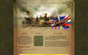 Скриншот сайта Coalition