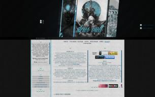Скриншот сайта Deus vult: reborn