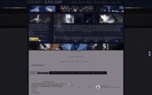 Скриншот сайта TW: Alfa game