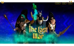 Скриншот сайта Война героев