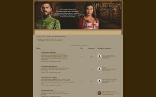 Скриншот сайта Muhteşem Yüzyıl: after Suleyman