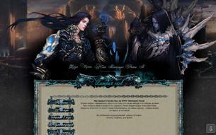 Скриншот сайта Империя оков