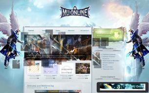 Скриншот сайта Все для MMORPG 3D Leader MU Online