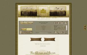Скриншот сайта The thorn birds