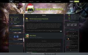 Скриншот сайта Jade Monkey