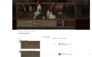 Скриншот сайта Lavender: femslash game