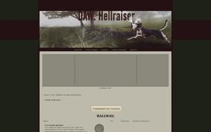 Скриншот сайта DAW. Hellraiser