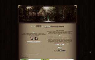 Скриншот сайта Следы богов