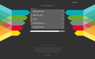 Скриншот сайта Men-stalker - сайт фанатов игры S.T.A.L.K.E.R., survarium