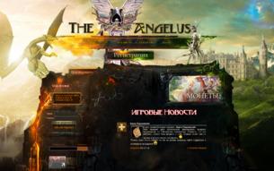Скриншот сайта Ангелиус