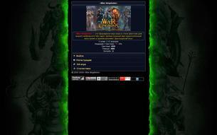 Скриншот сайта War Kingdoms - браузерная онлайн игра