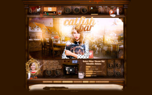 Скриншот сайта Catfish