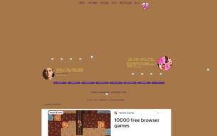 Скриншот сайта Dainty Donuts