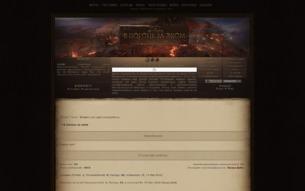 Скриншот сайта Ведьмак. В погоне за эхом