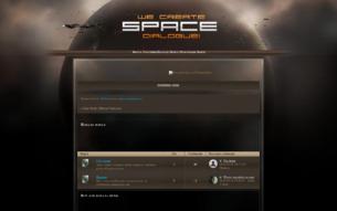 Скриншот сайта Star Trek: mirror universe