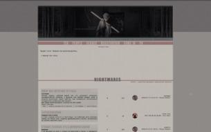 Скриншот сайта Praisethedevil