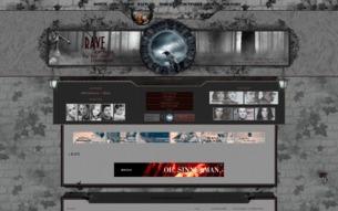 Скриншот сайта Rave