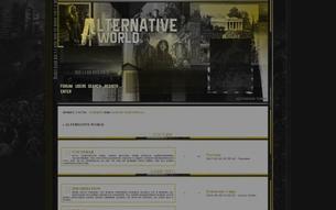 Скриншот сайта Alternative world