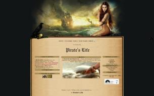 Скриншот сайта Pirate's life