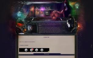 Скриншот сайта Academy of faiberry
