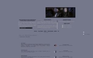 Скриншот сайта Supernatural: keep going