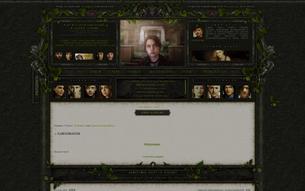 Скриншот сайта Sanguinarium