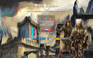 Скриншот сайта RPG онлайн игра, посвященная боям и магии