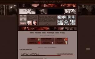 Скриншот сайта Teen Wolf: the wild hunt