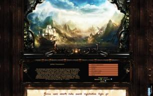 Скриншот сайта Путь в Средиземье