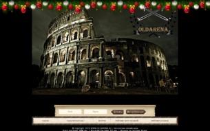 Скриншот сайта Oldarena