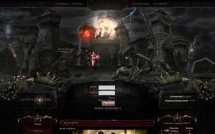 Скриншот сайта Chaoswars